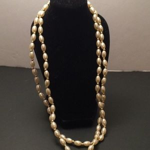 Vintage pearl necklace, new
